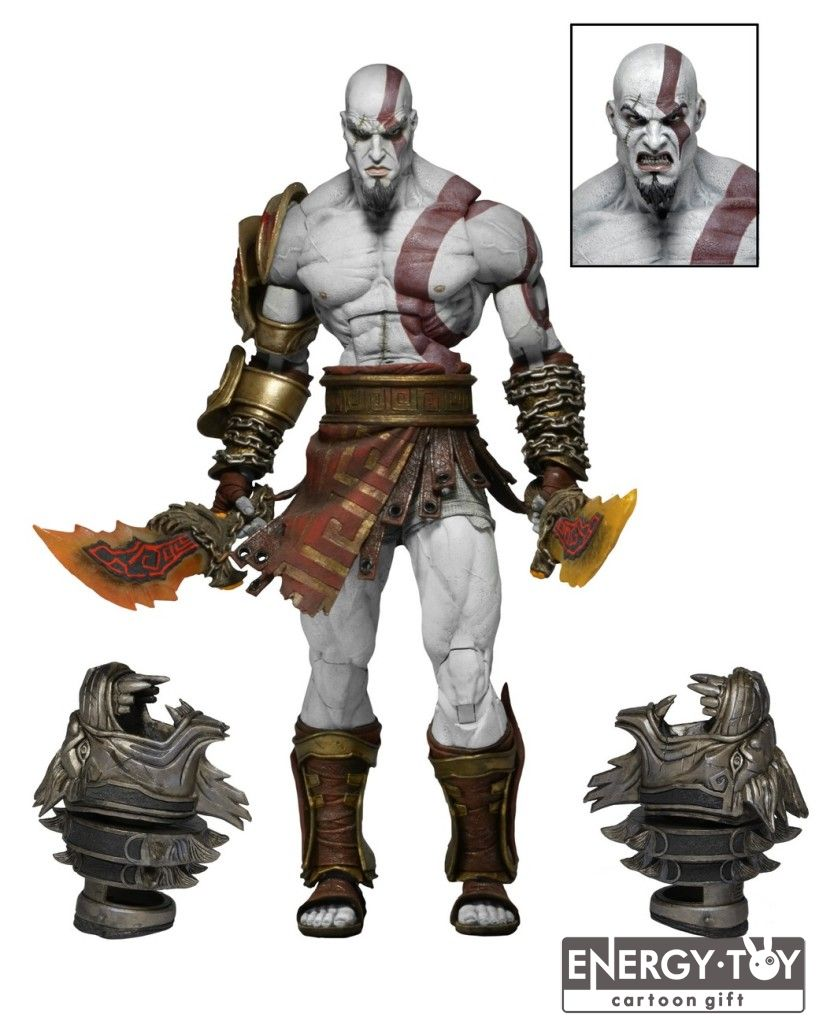 """22cm/9"""" NEW God of War 3 Ghost Of Sparta Kratos Ultimate PVC Action Figure doll Collectible Model Toy in box(China (Mainland))"""