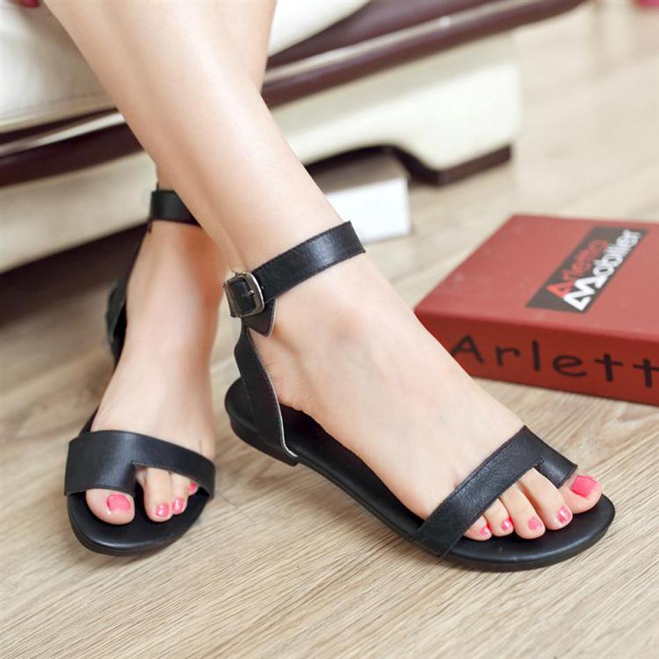 Cool Women39s Shoes  Flat Sandals  Leather Capri Sandals  JCrew  Polyvore