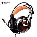 Sades A6S Vibration 7 1 Surround Sound Professional Gaming Headset USB Wired Mic Over Ear Headphones