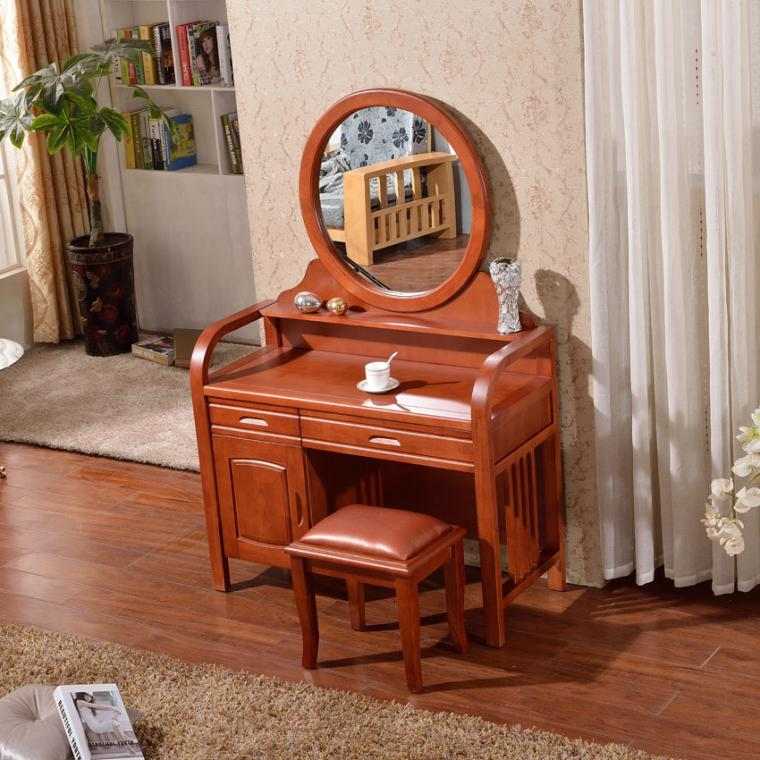 Simple ikea pastoral dresser dresser dressing table for Simple dressing table