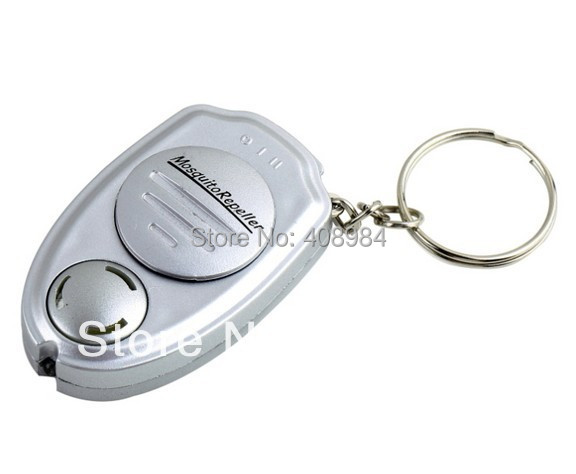 hot sales mini Key Clip Electronic outdoor Ultrasonic Pest Mosquito Sonic Eco-Friendly Insect fly Repeller Keychain(China (Mainland))