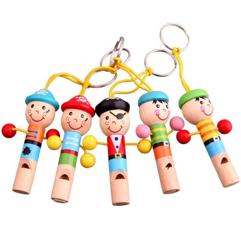 Гаджет  Baby Kids Wooden Toy Mini Whistle Pirates Developmental Toy Musical Toys  PNLO None Игрушки и Хобби