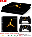 Hot selling low price skin sticker for ps4 console controller Console Controller Skin Sticker