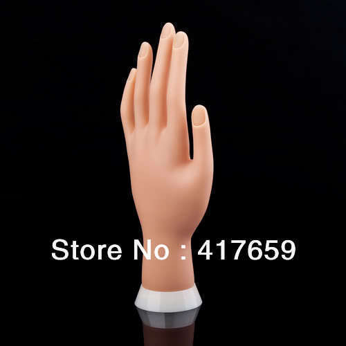 Adjustable Nail Art model Fake Hand for Training and Display painting practice tool Wholesale<br><br>Aliexpress