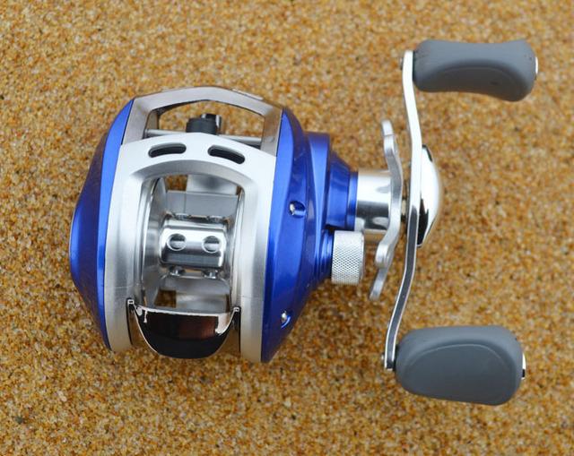 10 Bearing Right Hand Bait Casting Reel Drum Reel Saltwater Fishing Reel Free Shipping