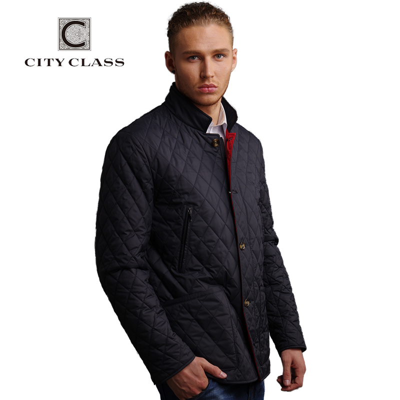 CITY CLASS New men fashion casual slim fit sewing suit stand collar cotton jacket free shipping