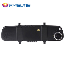 FHD 1080P G Sensor 6 leds night vision back up rear lens with 6 meters cable