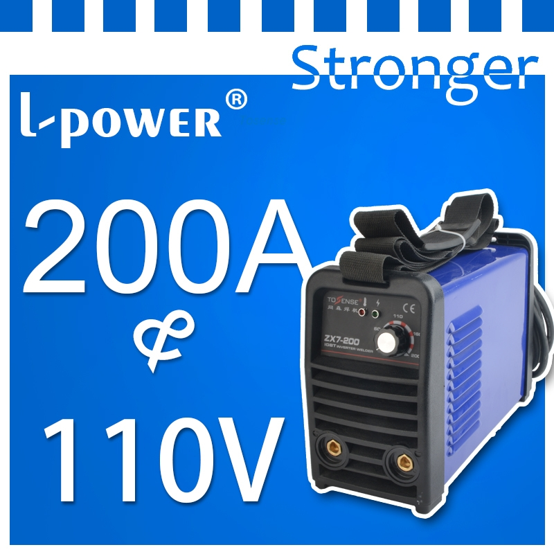 high quality portable metal great digital inverter welding supplies single-phase 110 volt(China (Mainland))