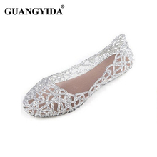 New 2016 summer women sandals breathable shoes crystal jelly nest crystal sandals female flat sandal shoes