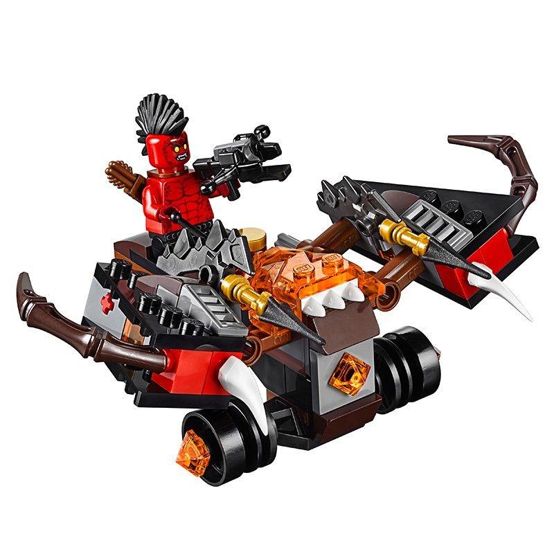 LEPIN Nexo Knights Axl Glob Lobber Combination Marvel Building Blocks Kits Toys Minifigures Compatible Legoe Nexus  -  CyunSing Trading store