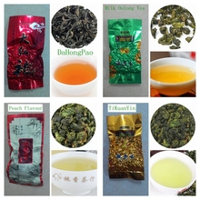 7 kinds Samples tea sweet oolong tea milk chinese tea dahongpao tikuanyin sweet Oolong tea tieguanyin