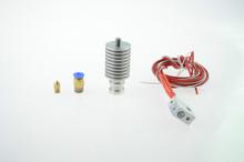 J head E3D Printer Head Extruder 12V 0 2 0 3 0 4mm Nozzle Thermistor Single