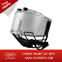 2014 Hot sales hockey visor of helmet for head protect free shipping