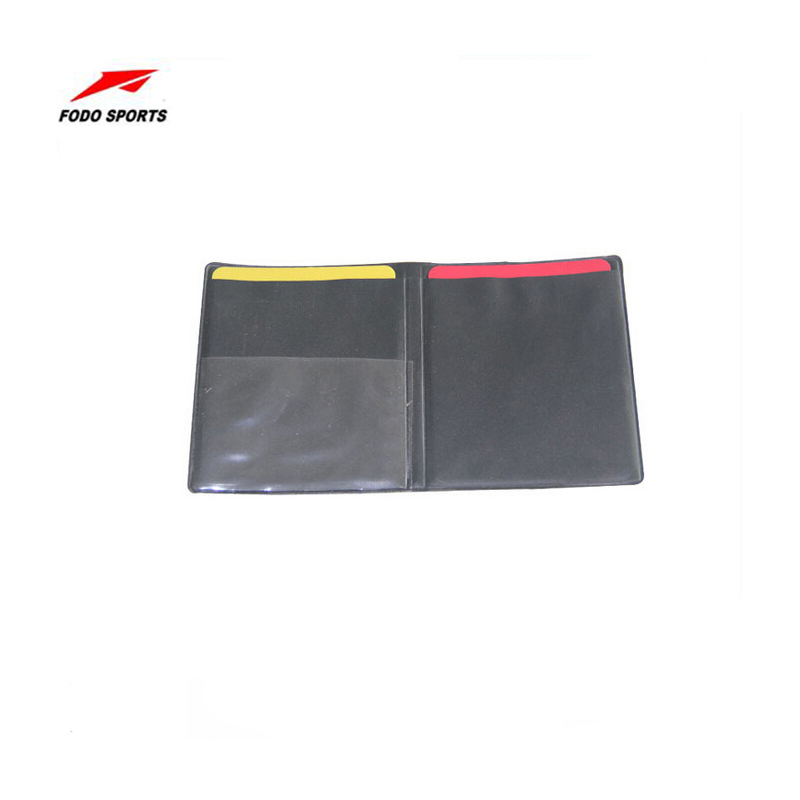 FODO New Soccer Football Referee Case with Red Card and Yellow Card(China (Mainland))