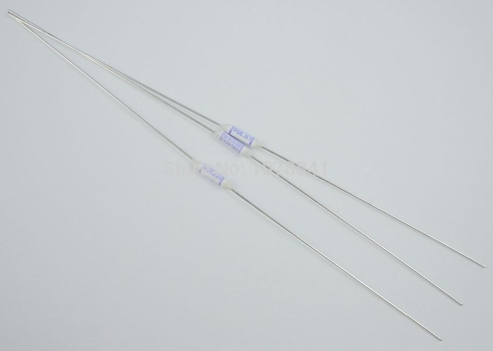 100 Pcs Per Lot Microtemp Thermal Fuse 150 Degree TF Cutoff 2A 250V SM145A1<br><br>Aliexpress