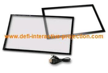 55 inches IR touch frame , 16:9 format - 2 points for   Command center, multi touch table