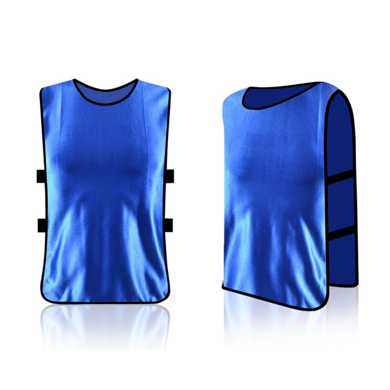 2017 Team Soccer Jersey Vest Men's Football Basketball Team Training Shirt Plus Size Sleeveless For Men Sports(China (Mainland))