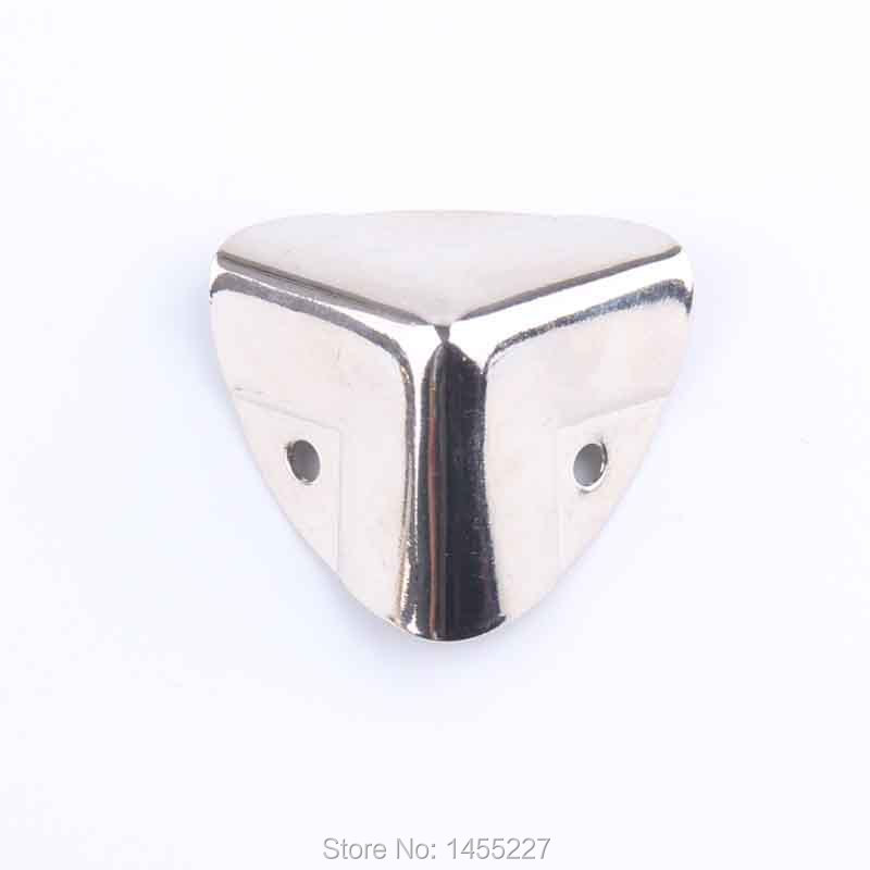 20Pcs/Lot Corner Bracket Hardware Accessories Furniture Fittings Shelf Brackets For Wood Box Case Ablum Wrap Angle Decorative(China (Mainland))