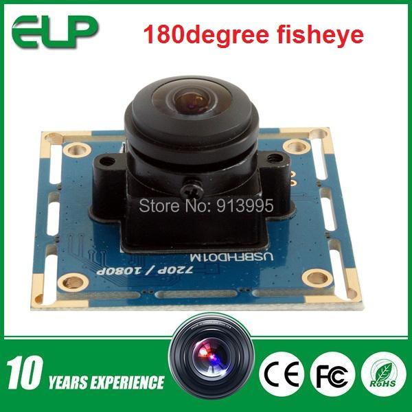 2MP cmos OV2710 wide angle 180 degree fisheye android usb camera module 1080P free driver UVC for many equipments(China (Mainland))