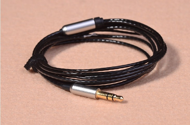 DIY headphone wire Silver-plated headphone cable fever