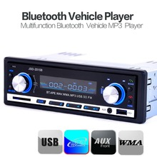 Bluetooth Black Car Stereo Audio 1 DIN In-Dash FM Radio Aux Input Receiver SD USB MP3 Player(China (Mainland))