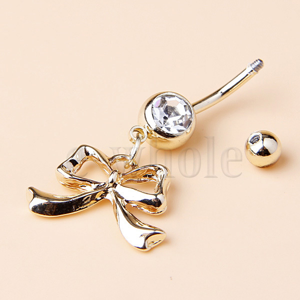 bow tie belly button rings images