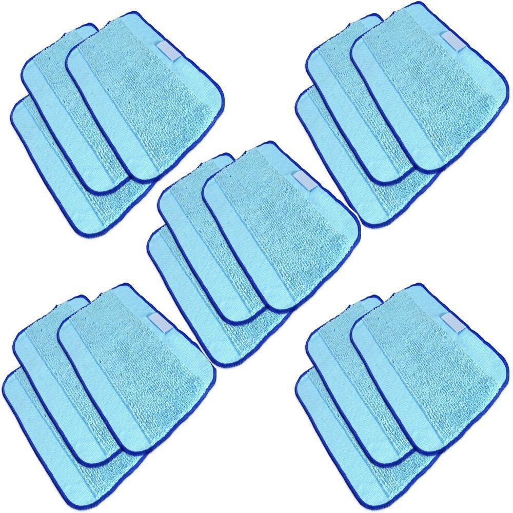 15pcs/Lot Microfiber Mopping Cloths for iRobot Braava 380t 320 Mint 4200 5200 Robot(China (Mainland))