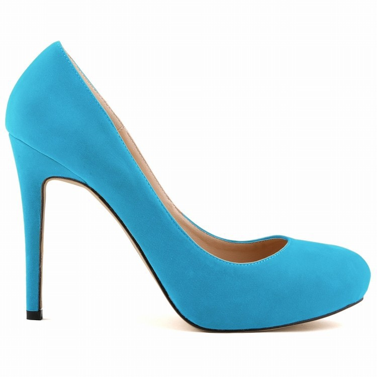 Sexy Women shoes FAUX VELVE High Heels Pointed Corset Style Pumps Work Shoes US Size 4-11,EU Size 35-42,UK Size 2-9(China (Mainland))