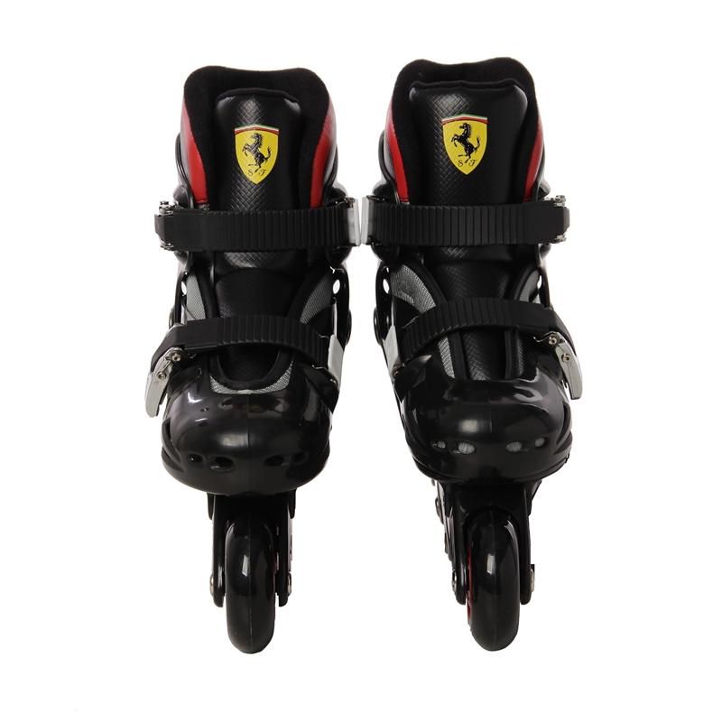 Фотография Ferrari Inline Two Color Selectable Skate Shoe FK7-M for Adult Roller Slalom Skates Braking Free Adjustable
