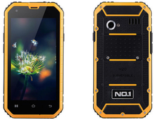 Original NO.1 M2 4.5″ IPS MTK6582 Quad Core 1GB RAM 8GB ROM GPS 3G WCDMA Android Smartphone Waterproof Shockproof 13MP Camera