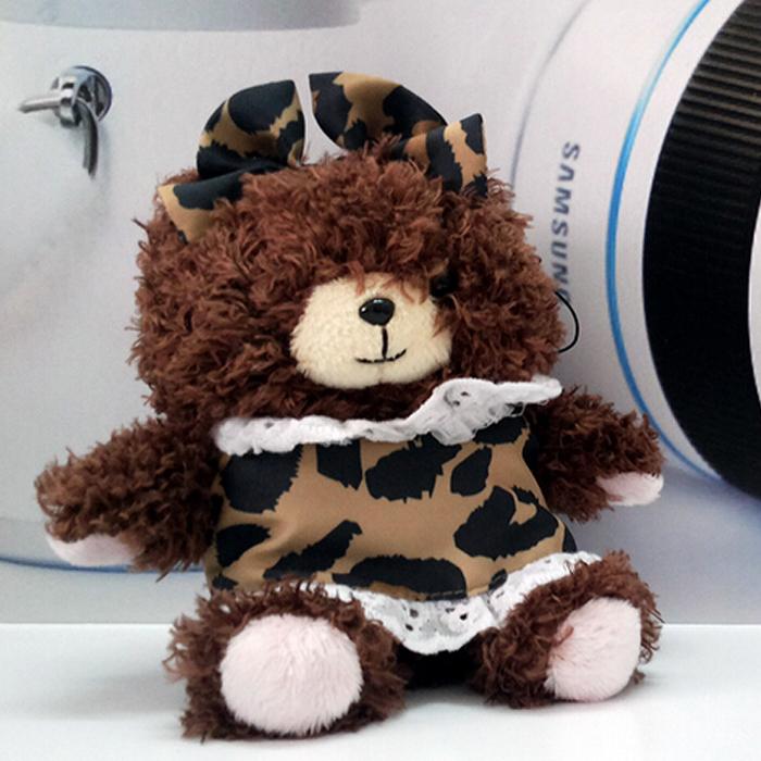 New fashional Cute Bear Power Bank general charger portable mobile power Plush doll ornaments 4400mAh(China (Mainland))