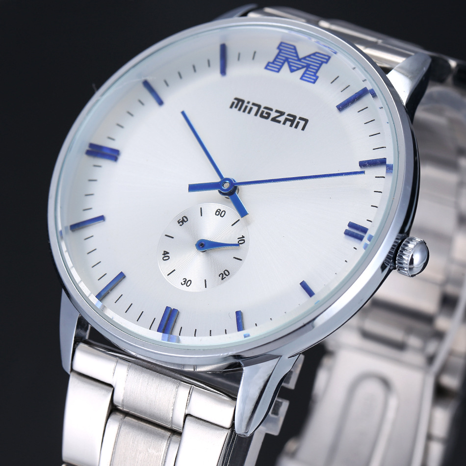 Luxury Brand Full Stainless Steel Watch Men Analog Display Date Mens Quartz Watch Business Relogios Masculinos Montre Homme<br><br>Aliexpress