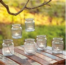 """3.7""""H Glass Hanging Candle Holder in Clear Color  USD57.60 for 12pcs/Each USD4.80(China (Mainland))"""