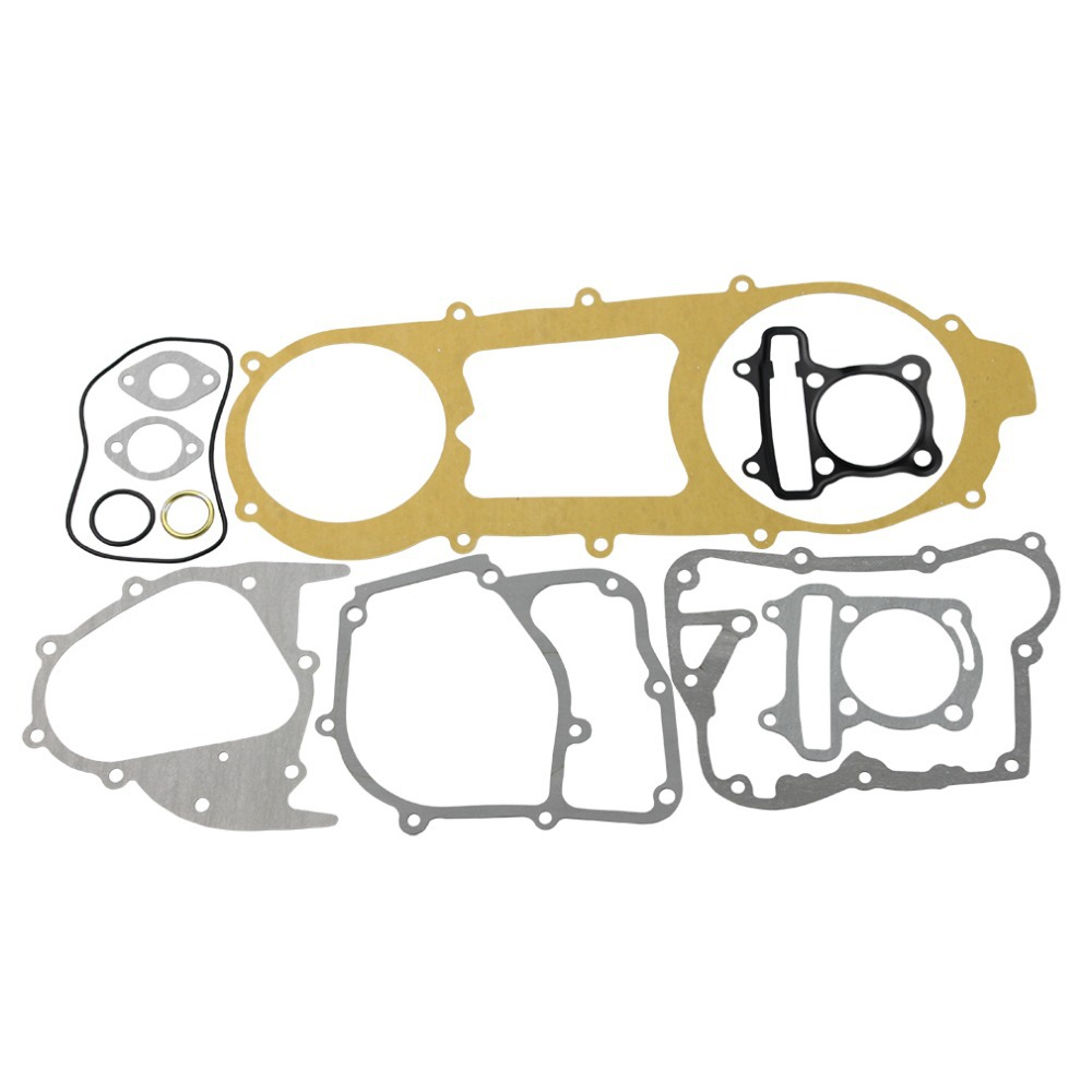 Complete Gasket Set for font b GY6 b font 150cc for ATV Go Kart Moped Scooter