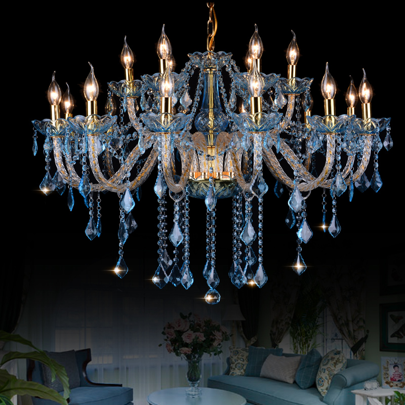 Modern Crystal Chandelier lamparas de cristal Lamp dining room chandliers Lighting Fixture Hanging Lustres suspension luminaire(China (Mainland))