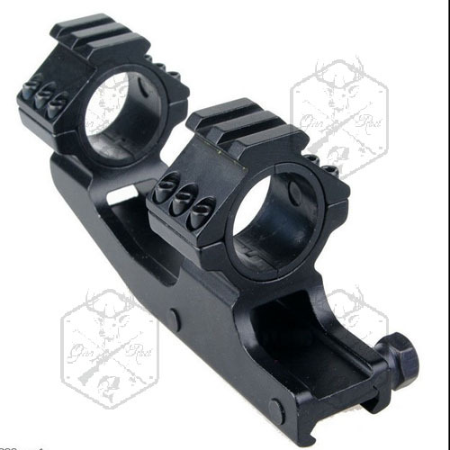 25mm 30mm Dual Ring Cantilever Scope Mount Picatinny / Weaver Rail M0043 Scope Mounts(China (Mainland))