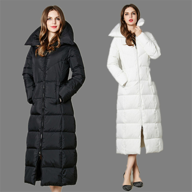 long womens goose down coat | iSpeakClearly Accent Modification