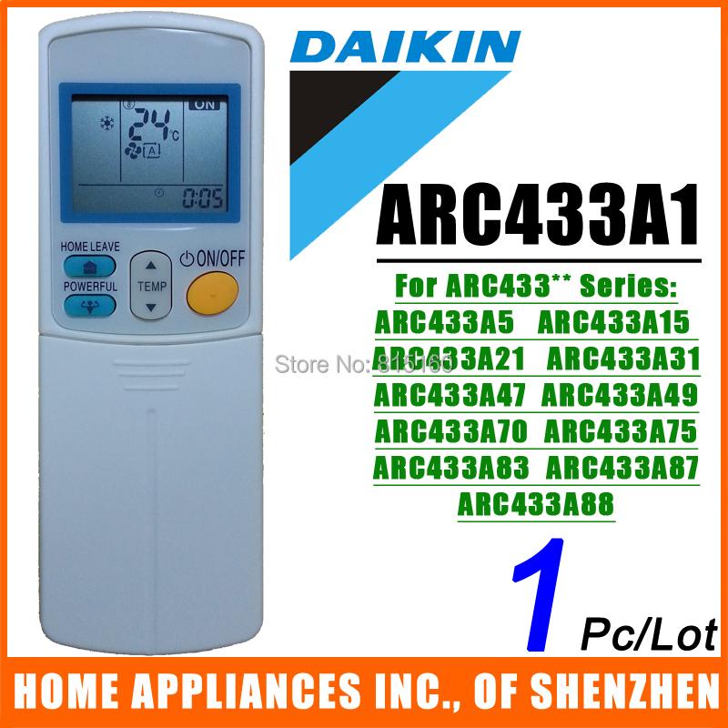 daikin remote control manual arc433b47