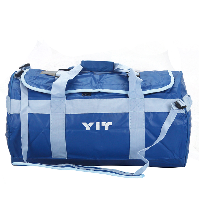 60L Versatile Ultralight Outdoor Light blue Travel Waterproof Bag High Strength Fabric Rafting Dry Bags Hiking Travel Kit TB0035(China (Mainland))