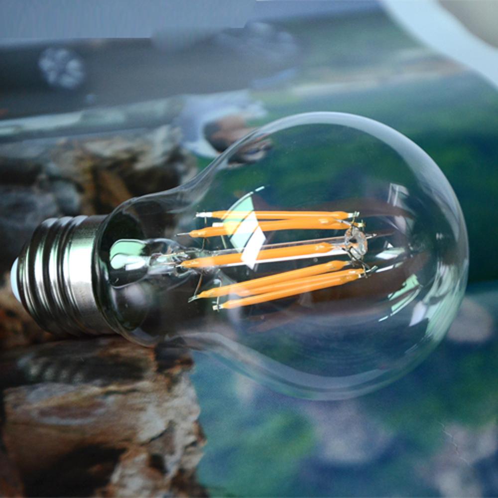 E27 Dimmable Led Light AC220V 2W 4W 6W 8W Filament lamp G45 A60 Antique Retro Edison Ball Bulb lampada led repalce Incandescent()