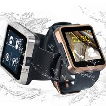 F1 luxury  smartwatch android GSM GPRS waterproof men wristwatch Facebook sync smartphone watch bluetooth 1.3M camera reloj SIM
