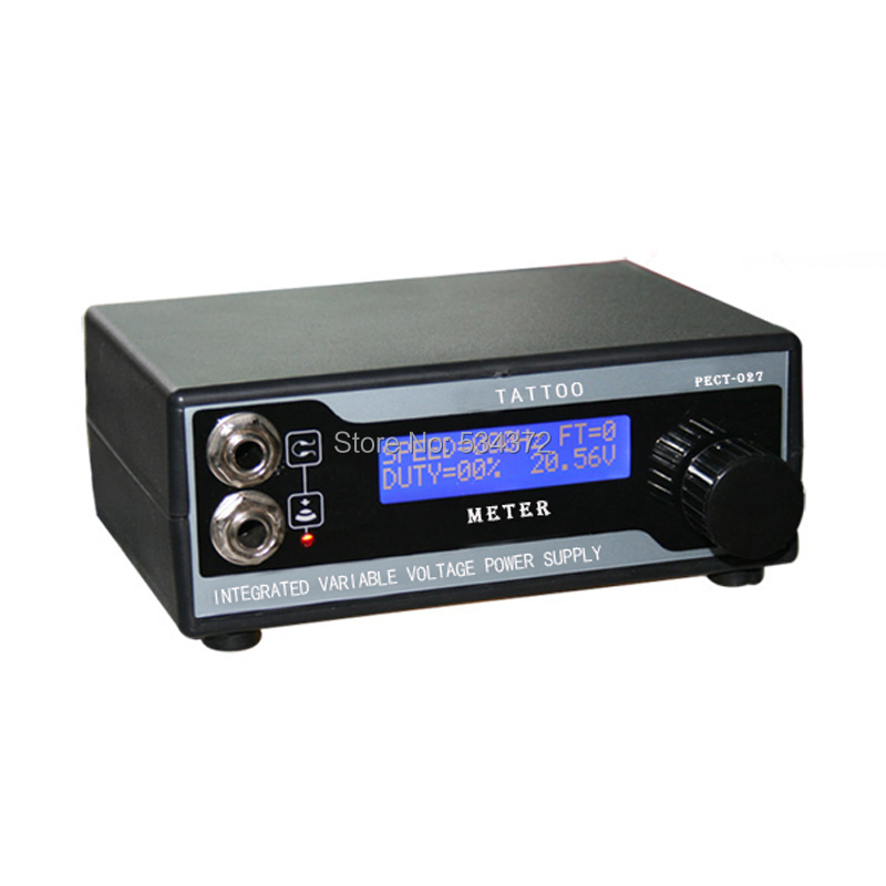 top quality lcd digital tattoo power supply for tattoo