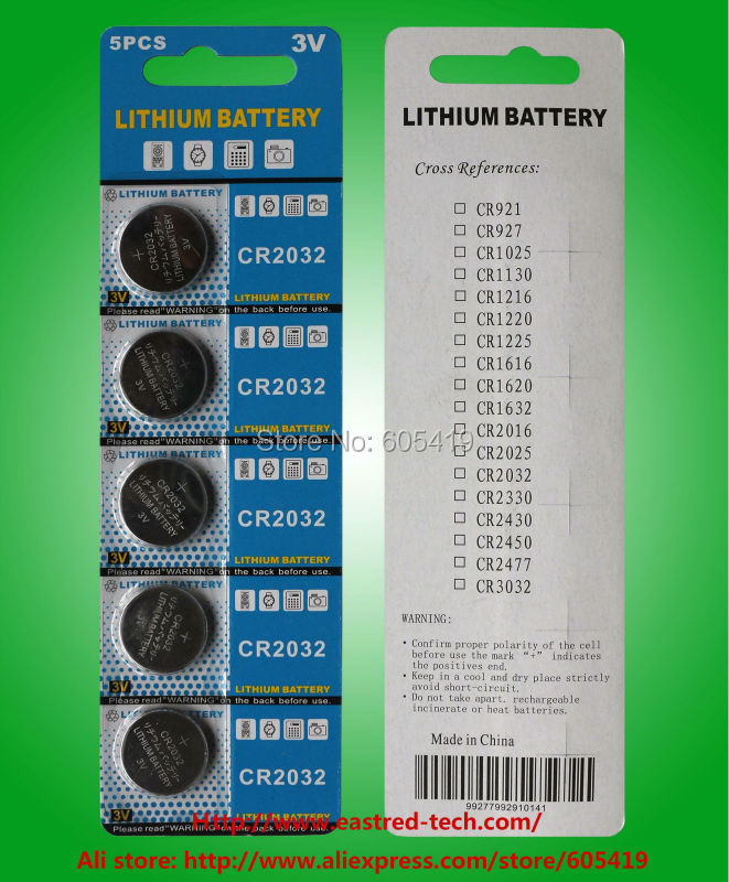 PILE 400 blister card CR2032 Lithium coin cell batteries(China (Mainland))
