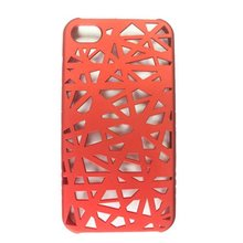 Big discount Colorful Bird Nest Mesh Protective Hard Case for iPhone 4/4S fast free shipping(China (Mainland))