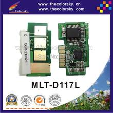 (TY-S117) reset laser printer toner chip for Samsung MLT-D117L MLT-D117 MLT-117L MLT-117 SCX 4650F 4650N 4652F bk 2.5k free dhl