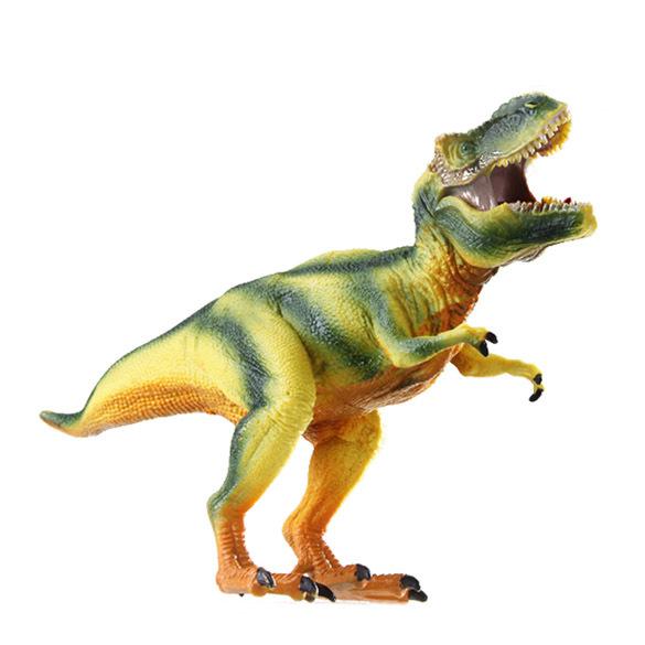 Puyo venta al por mayor Dinosaur World plástico juego jurásico dinosaurio juguetes modelo de acción y figuras de T-REX dinosaurio envío barato(China (Mainland))