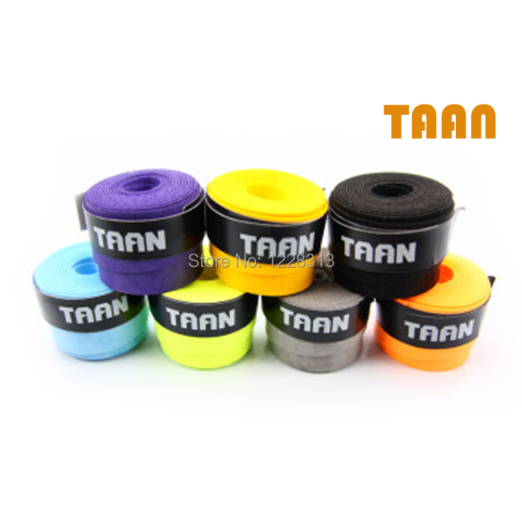 TAAN TW800(11pcs/Lot)Brands taan tacky feel Replacement Grips/tennis racket/badminton sweatband grips tape free shipping(China (Mainland))
