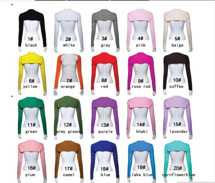 20 colors Hijab Muslim One Piece islamic arm sleeves Full Arm Sleeves Modal Jersey Arm Cover Shrug Bolero Inner Body Free Size(China (Mainland))
