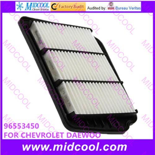 Бесплатная доставка Высокая qulality Воздушный Фильтр салонный фильтр нетканых материалов 96553450