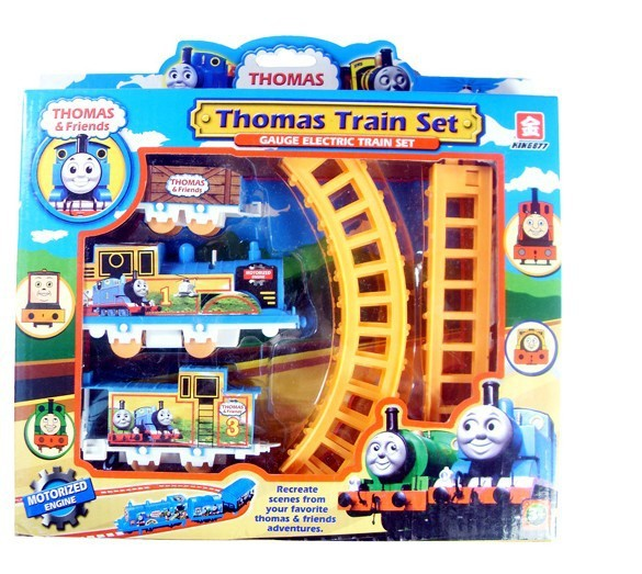 Free shipping 3set/lot Tomas electric rail train toy set chirldren good gift toy tomas toy(China (Mainland))